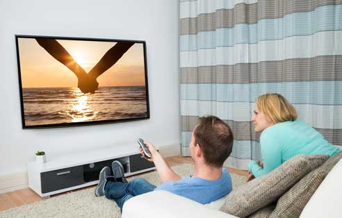 Fully Concealed Wall Mount TV Installation