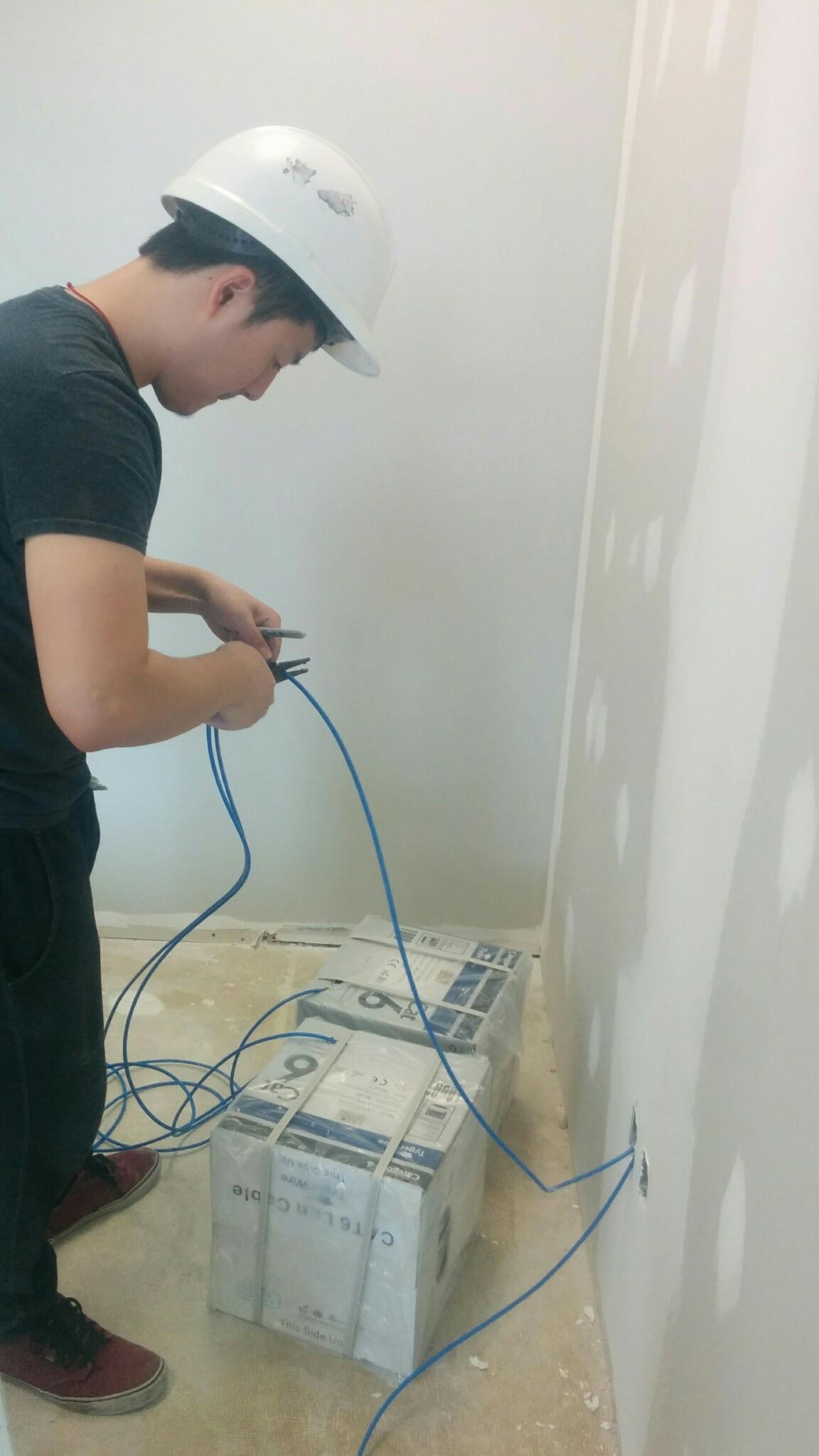 Img 20150601 143919 Leslievillegeek Tv Installation Home Theatre Wiring