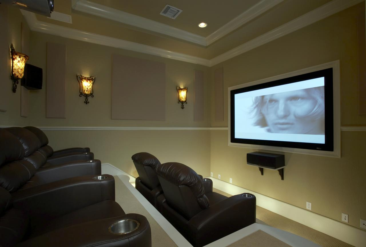 Projector Room Ideas