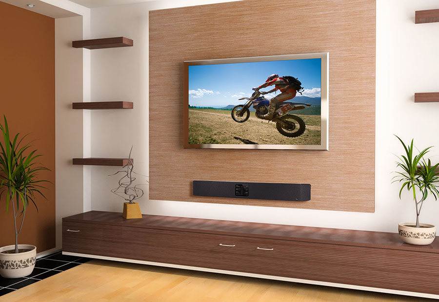 Sound bar setup and concealed wall mounting toronto for Home bar installation