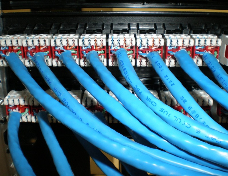 Cable Amp Cat6 Termination And Patch Panel Installation
