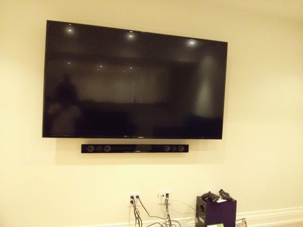 Toronto Wall Mounted Sound Bar Installation And Setup