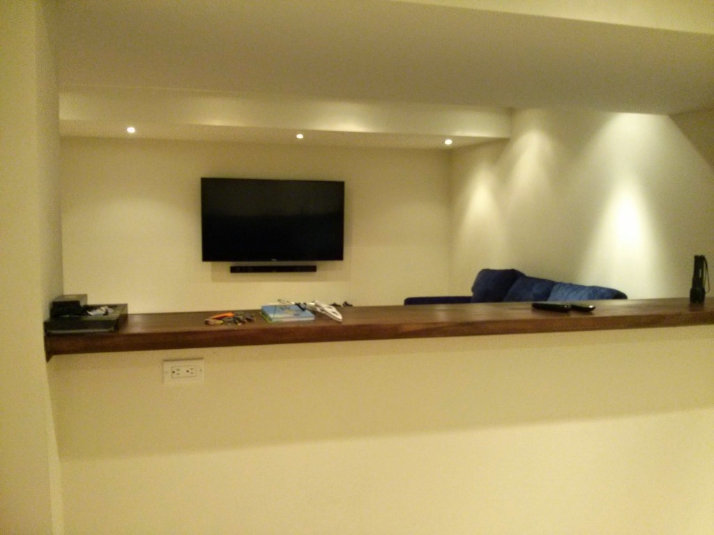 Toronto wall mounted sound bar installation and setup for Home bar installation