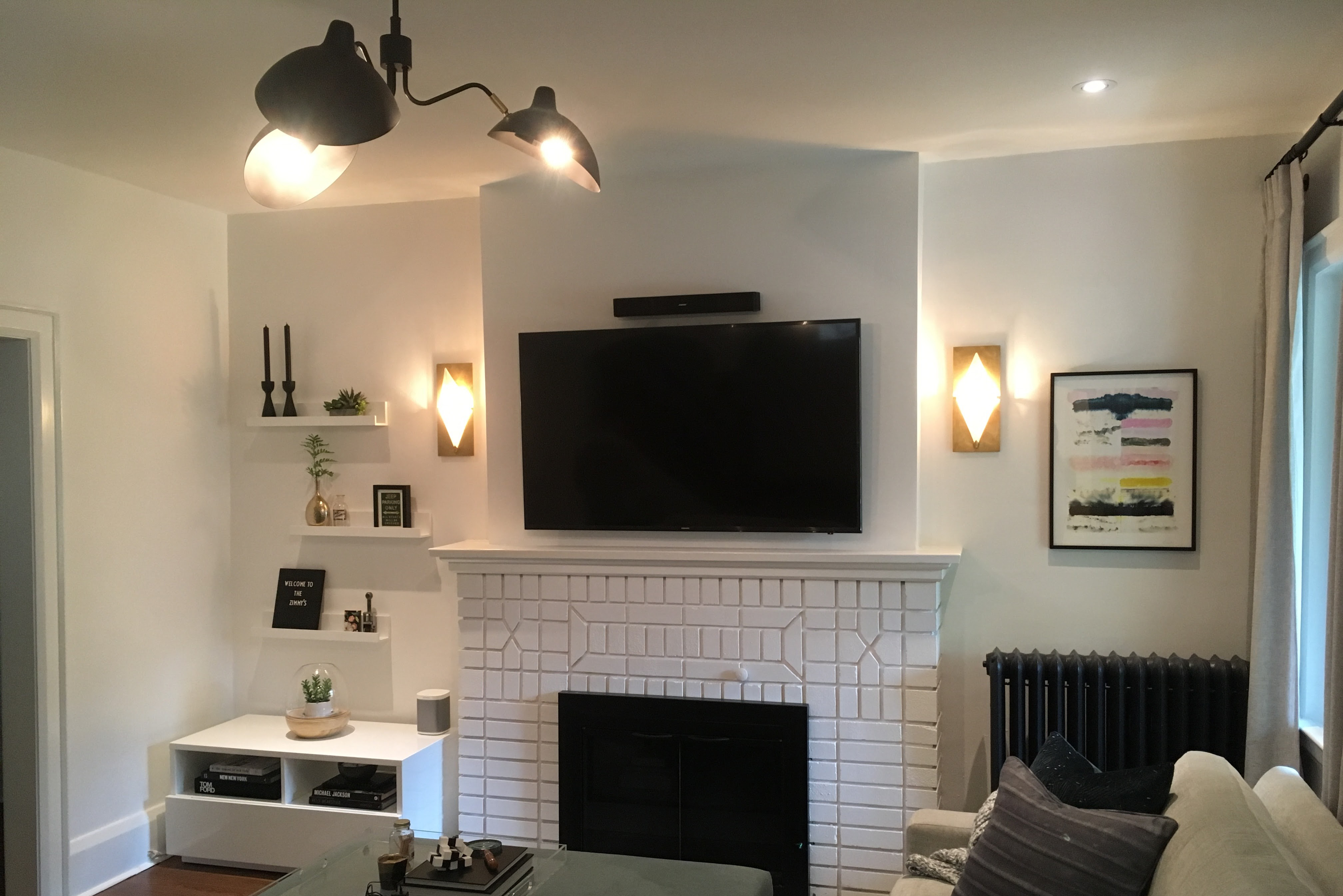 watch mount over best tv way fireplace youtube to