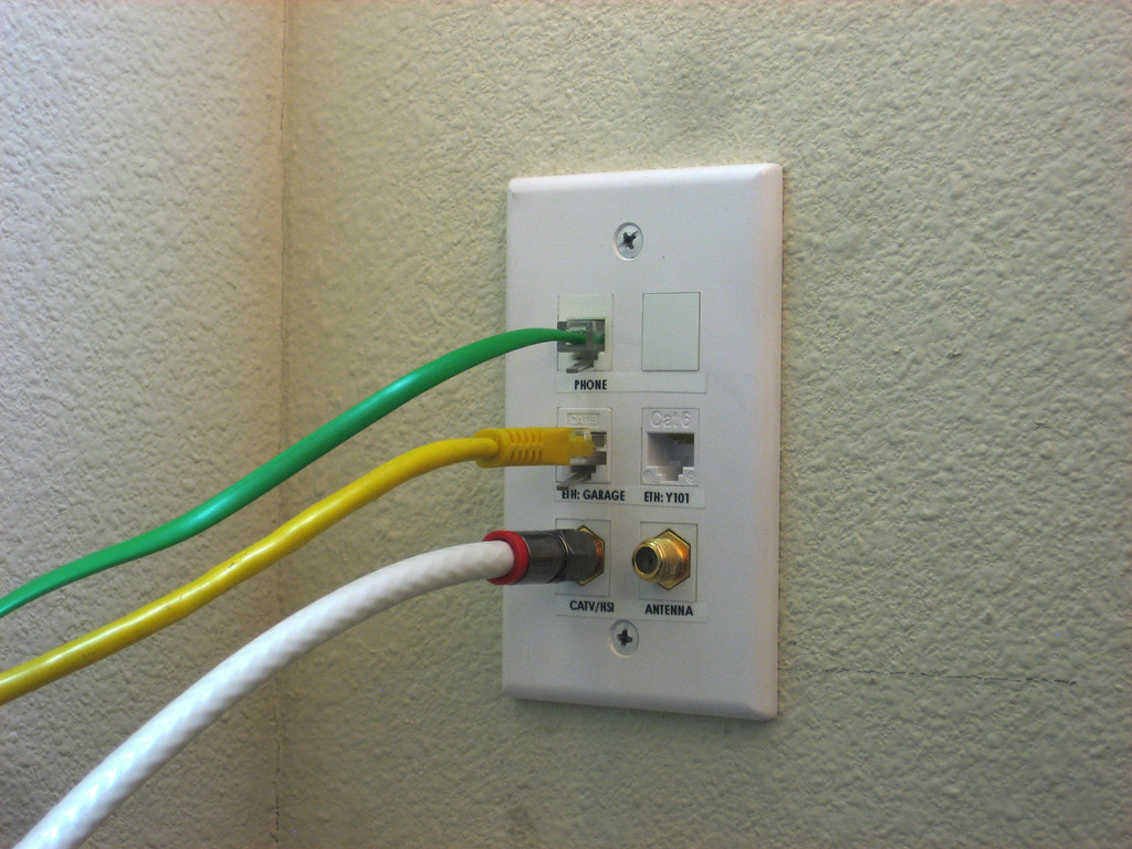 Network Jack Installation Toronto Leslievillegeek Tv Home Wiring Phone Coax Hdmi And Cabling Of Jacks For Your Office